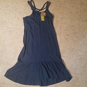 Crazy 8 Knit Denim Halter-Style Dress - Size 10/12